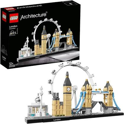 Lego Architecture London Skyline Model Building Set.