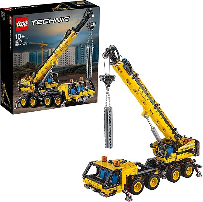 Lego Technic Mobile Crane Truck.