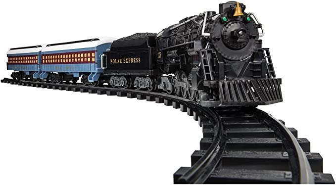 Lionel Polar Express Train Set.
