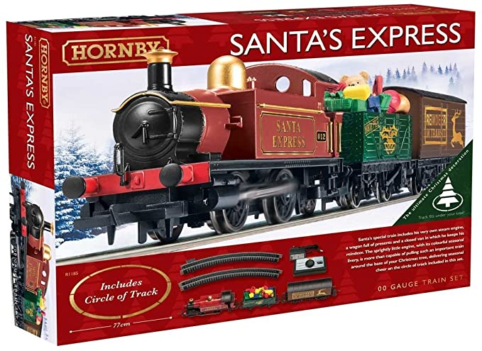 Hornby Santa Express Christmas Train Set - Argos.