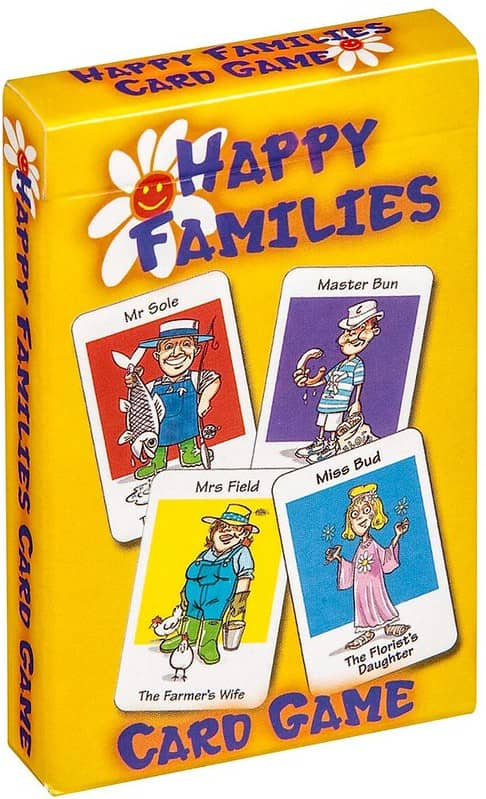 Happy Families Card Came - Cartamundi