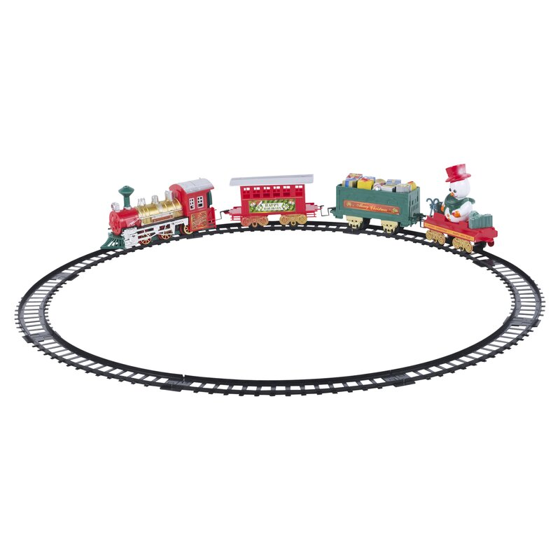 The Seasonal Aisle Christmas Train Set - Wayfair.