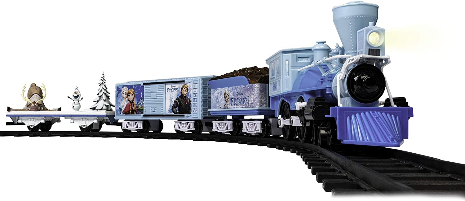 Lionel Disney's Frozen Train Set.