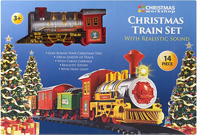The Christmas Workshop Santa's Express Christmas Train Set.