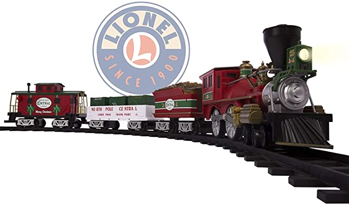 Lionel North Pole Central Christmas Tree Train Set.