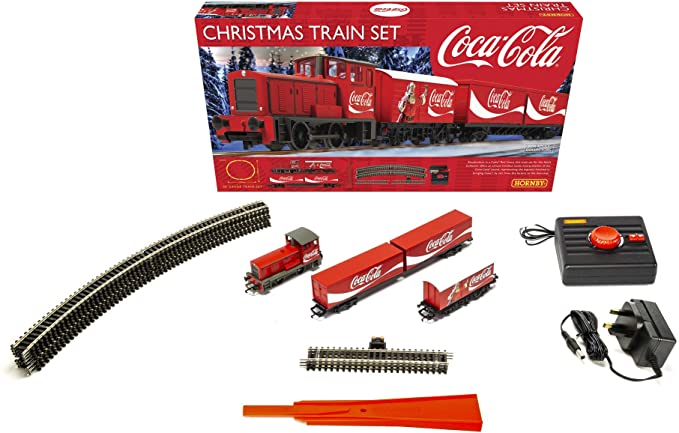Hornby The Coca Cola Christmas Train Set.