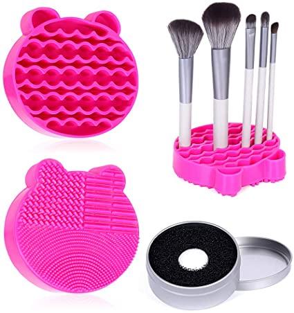 Silicone Makeup Brush Cleaning Mat - Edjian