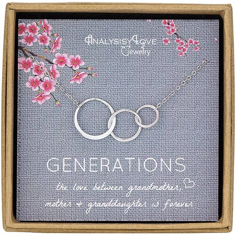 Three Generations Sterling Silver Necklace