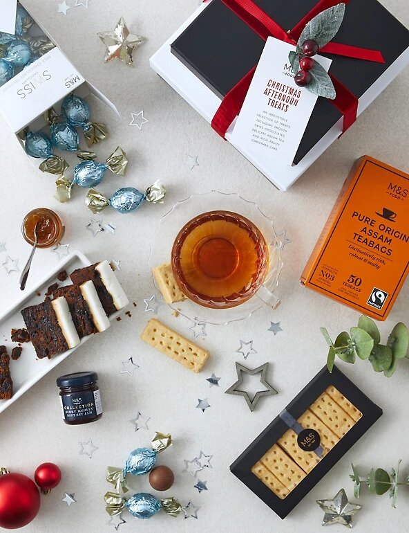 Christmas Afternoon Treats Gift Set - M&S