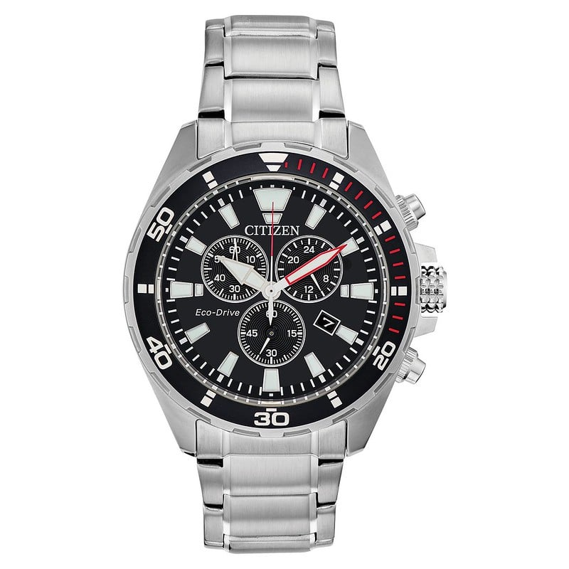 Citizen Eco-Drive Men's Stainless Steel Bracelet Watch - H. Samuel
