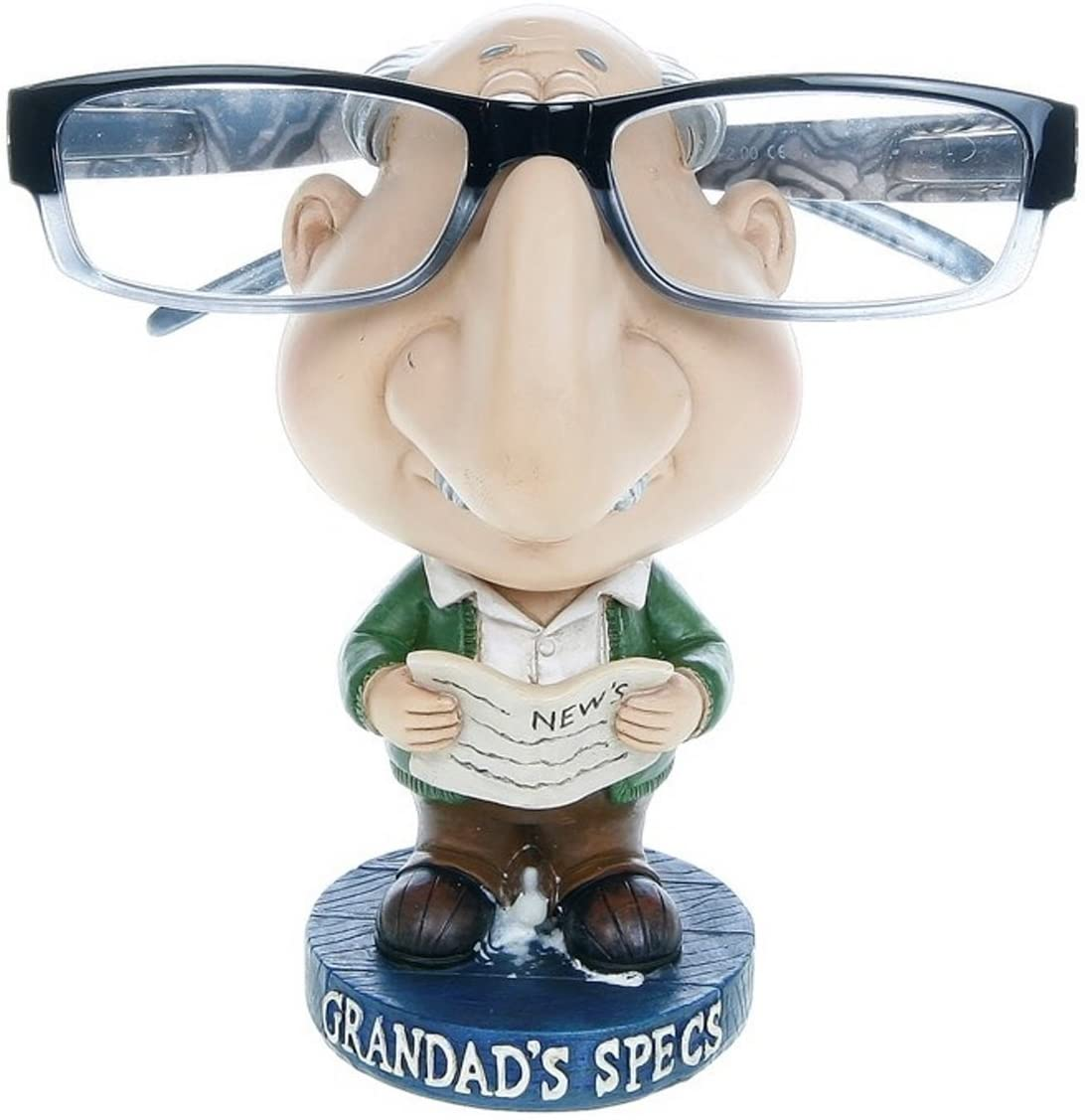 Comical Grandad Spectacles Glasses Stand