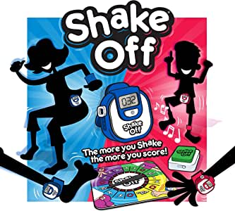 Shake Off Board Game.