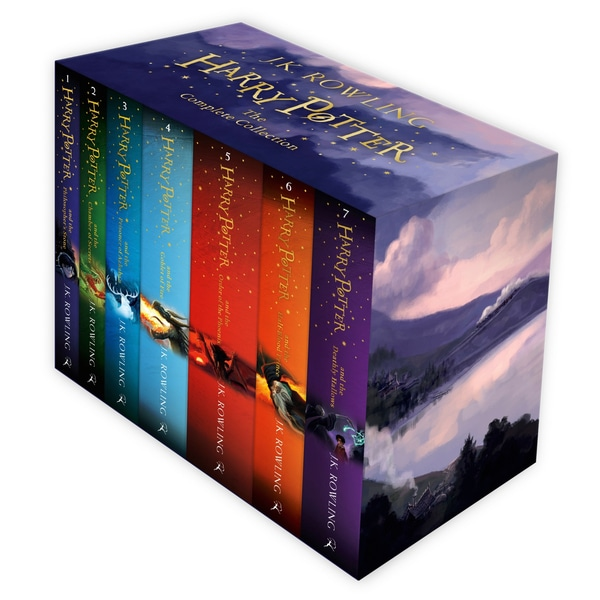 Harry Potter Complete Book Collection - Smyths Toys.
