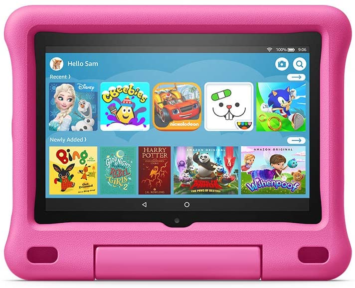 Amazon All-New Fire HD 8 Kids Edition With Case.