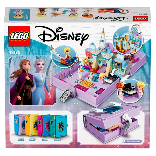 LEGO Disney Princess Frozen II Anna and Elsa's Storybook Adventures - Argos