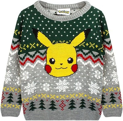 Pokemon Christmas Jumper