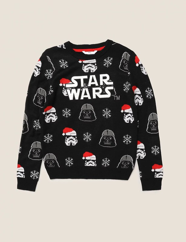M&S Star Wars Christmas Jumper