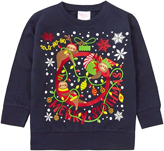 Lora Dora Kids Christmas JumperLora Dora Kids Christmas Jumper