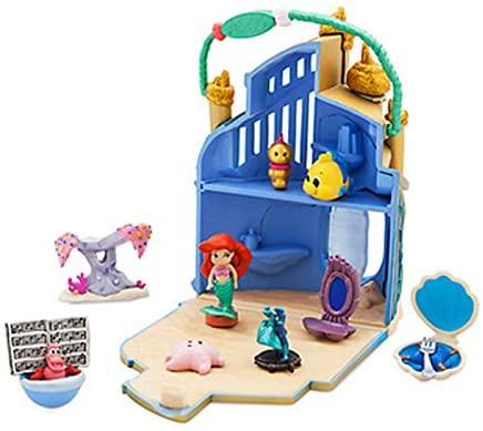 Disney Store Ariel's Palace Playset.