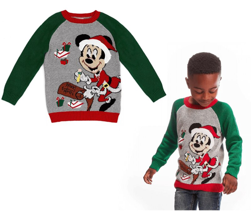 Mickey Mouse Holiday Cheer- Disney Store