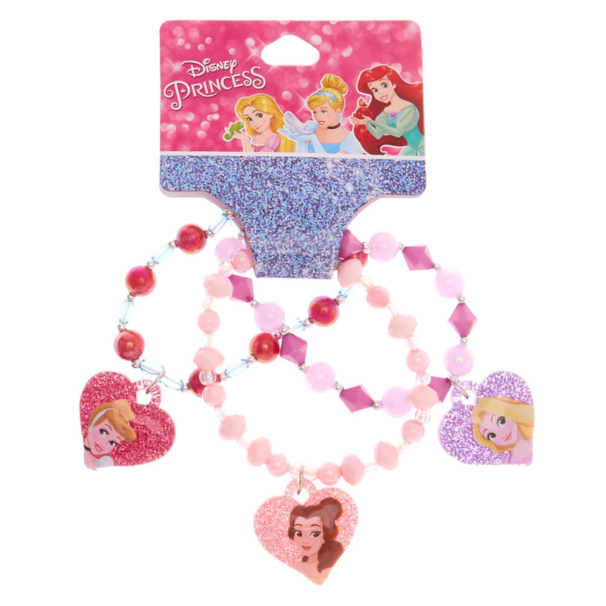 Claire's Disney Princess Charm Bracelets.