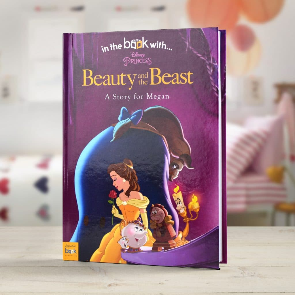 Personalised Disney's 'Beauty And The Beast' Book.