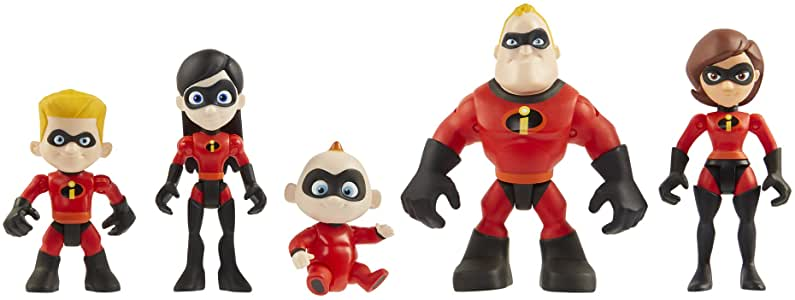 'Incredibles 2' Family Figure Set.