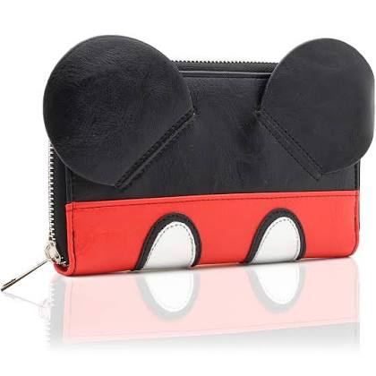 Disney Mickey Mouse Purse With 3D Ears.