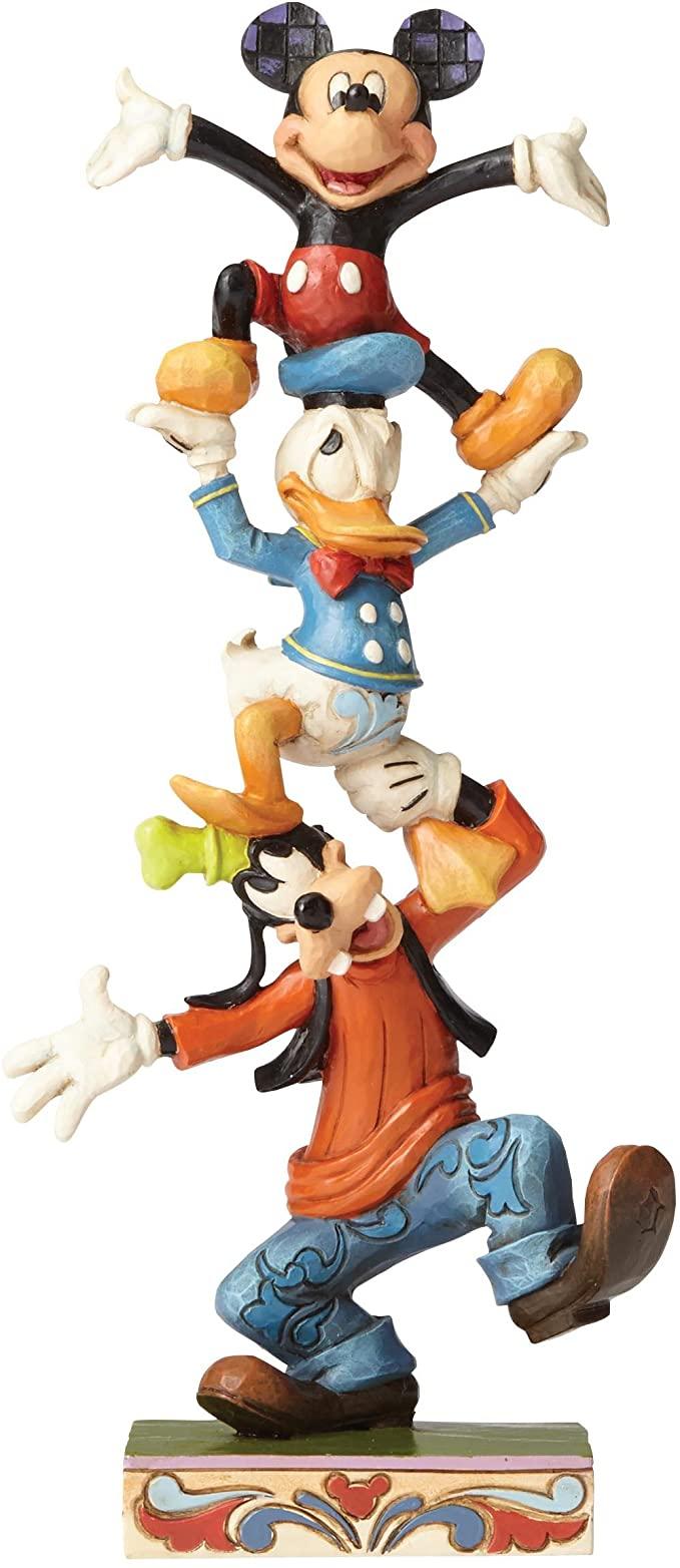 Disney Traditions Teetering Tower Figurine.