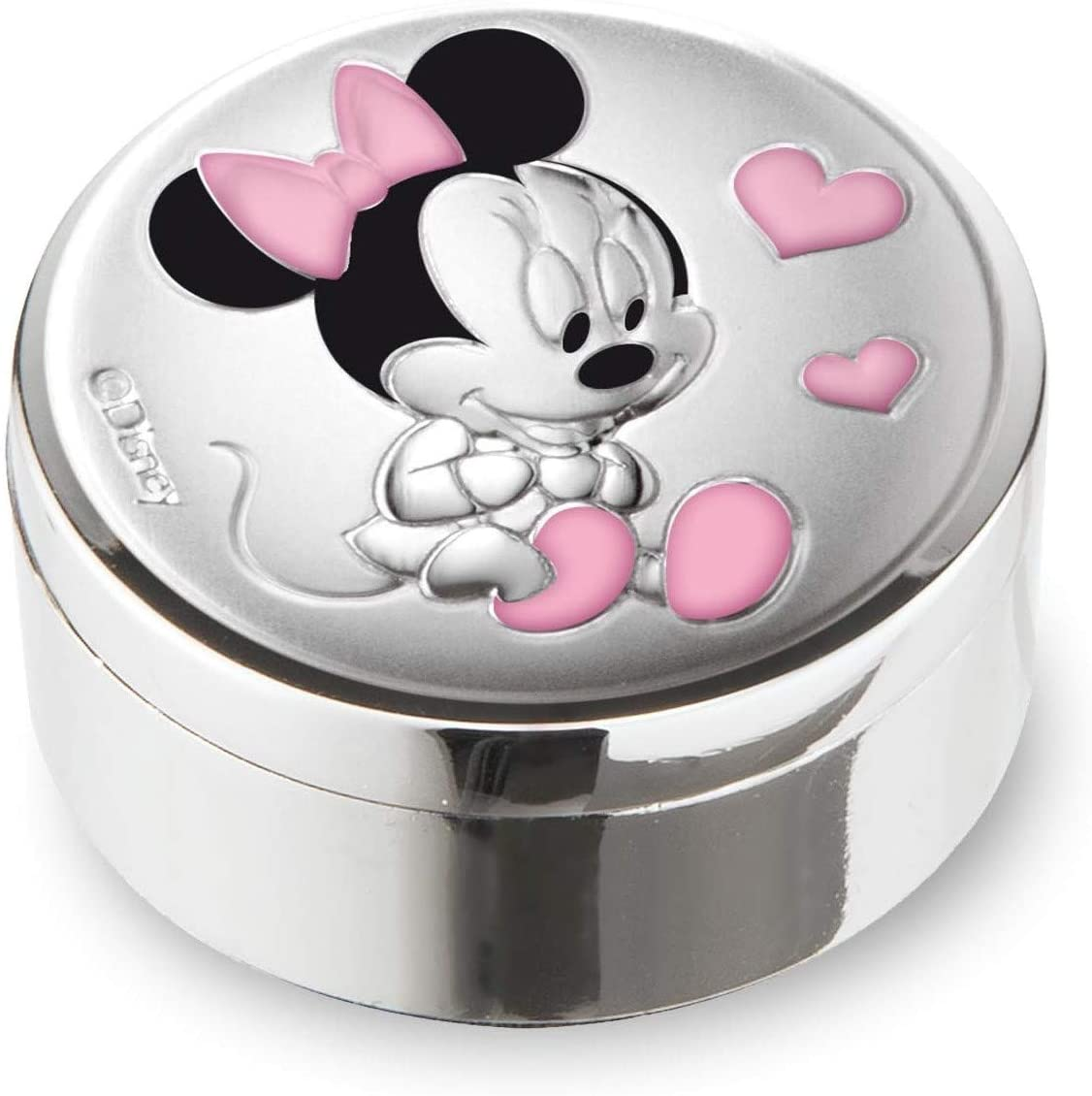 Mickey Mouse Silver Keepsake Box.