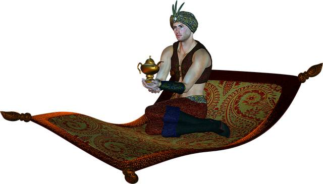 A lot of writers like to create their own genie character and give them a meaningful genie name that they like.
