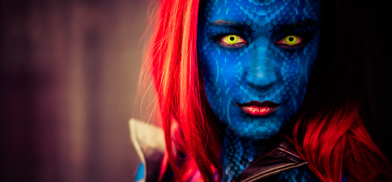 Mystique is the name of a shapeshifter from X-Men.