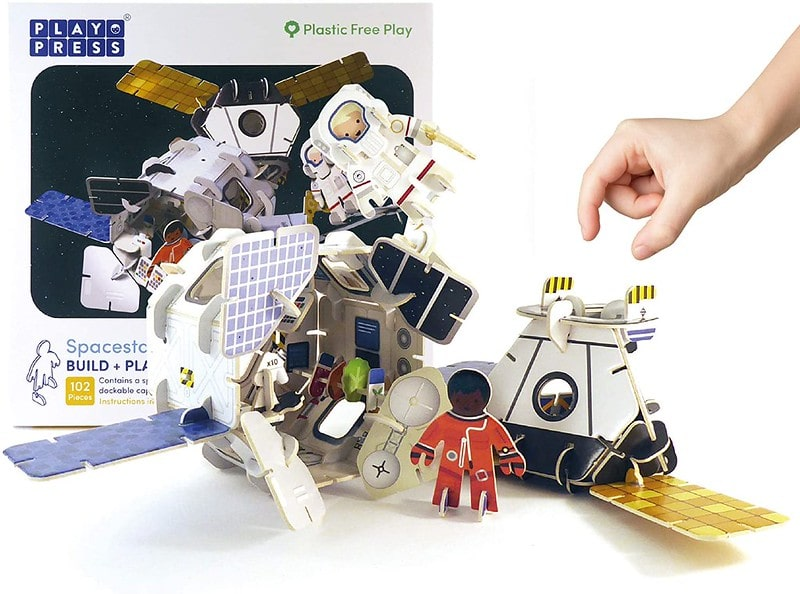 Space Station Play Set - Playpress