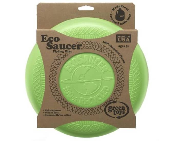 Eco Saucer Flying Disc - Green Toys