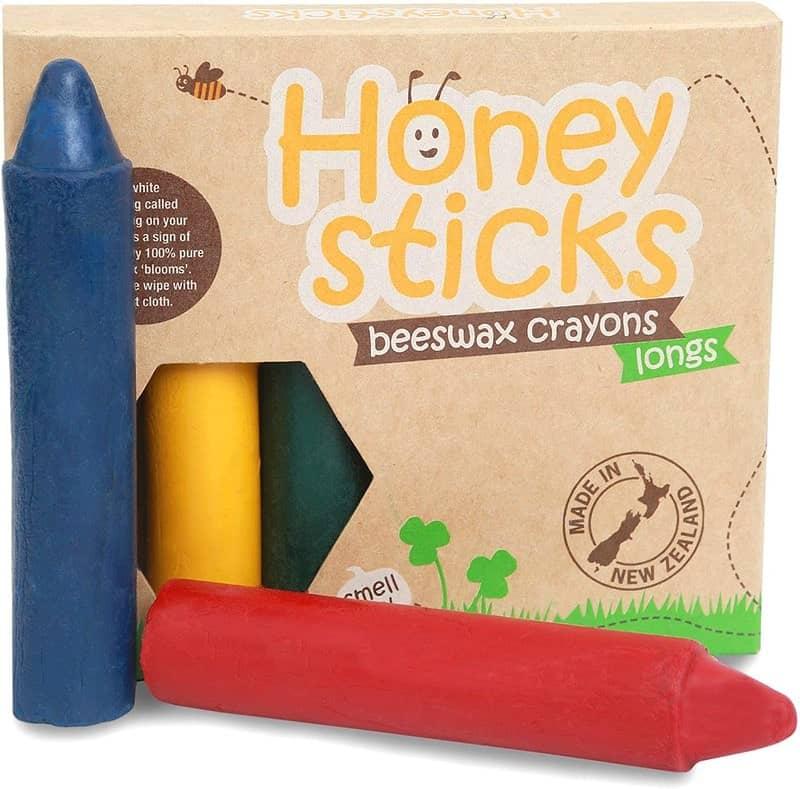 100% Pure Beeswax Crayons - Honeysticks