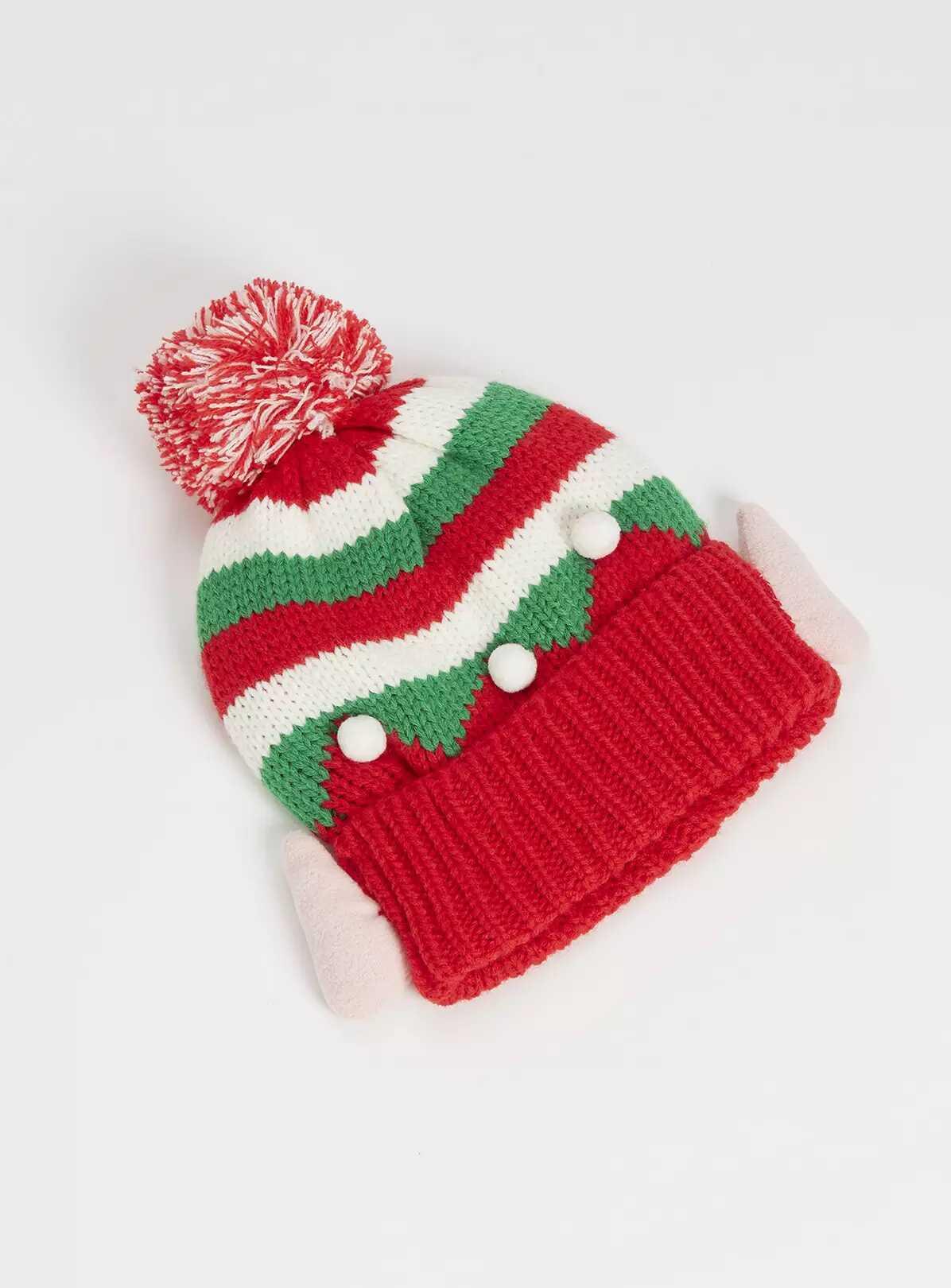 Christmas Red Elf Hat - Argos