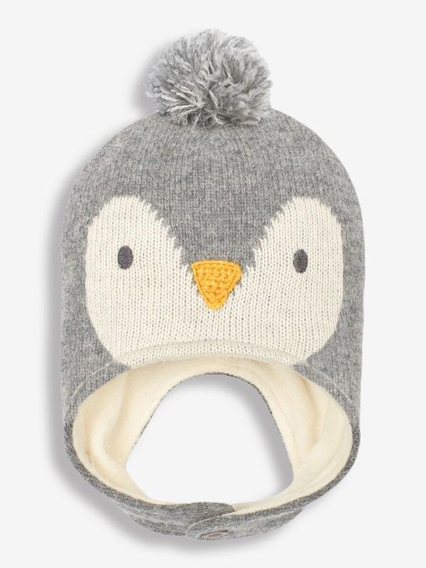 Grey Penguin Hat - Jojo Maman Bebe