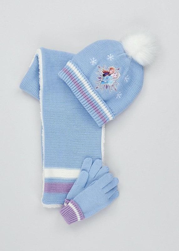 Kids Disney Frozen 2 Hat Scarf & Gloves Set - Matalan