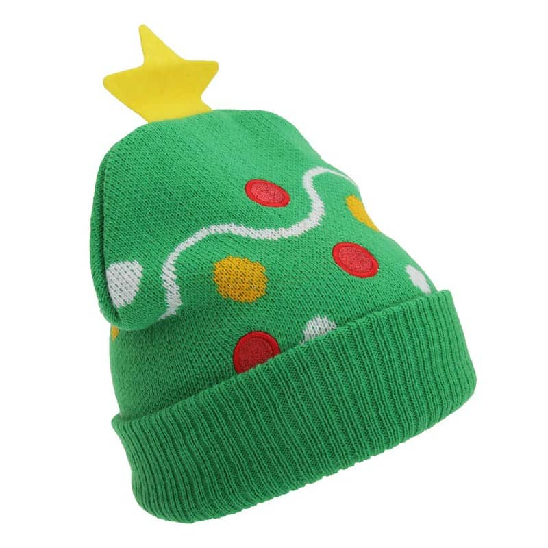 Kids Christmas Design Knitted Winter Hat- Universal Textiles
