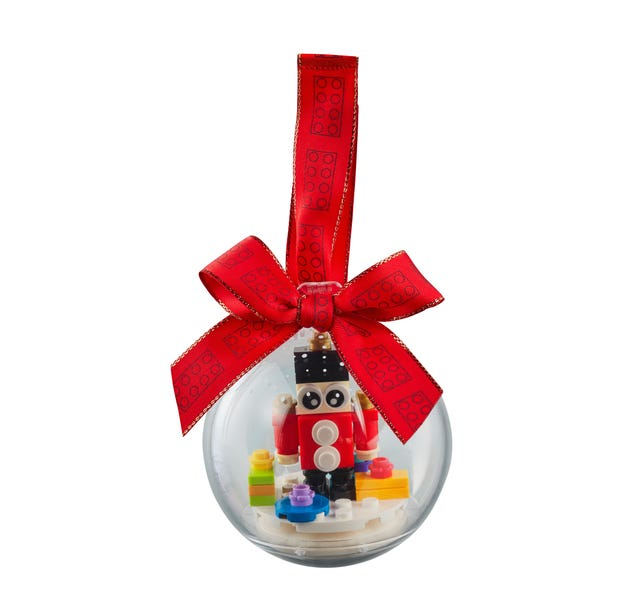Toy Soldier Ornament - Lego