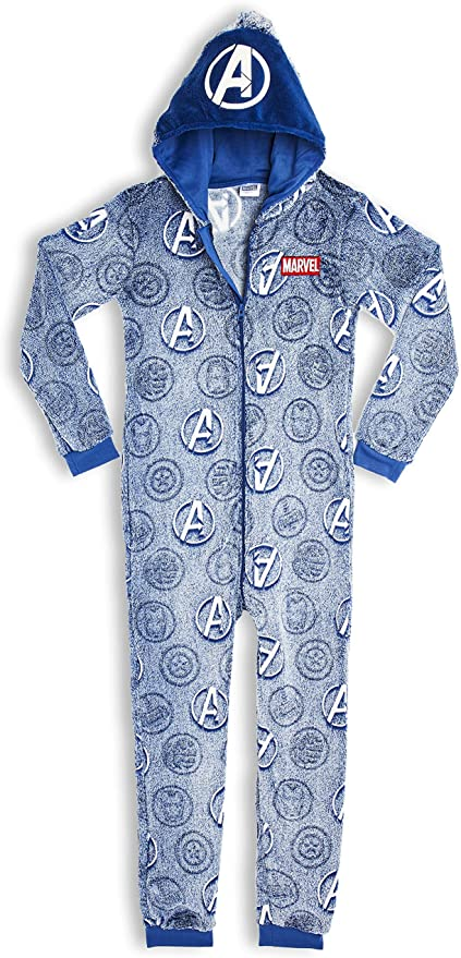Marvel Avengers Glow In The Dark Onesie.