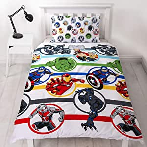 Marvel Avengers Single Duvet Cover.