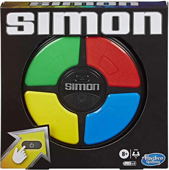 Hasbro Gaming Simon Game.