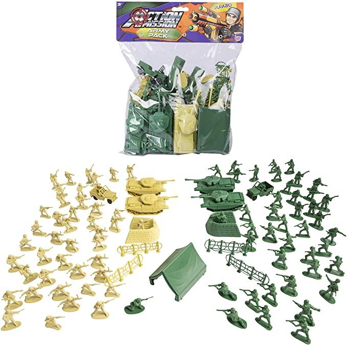HTI Combat Force Jumbo Army Pack.