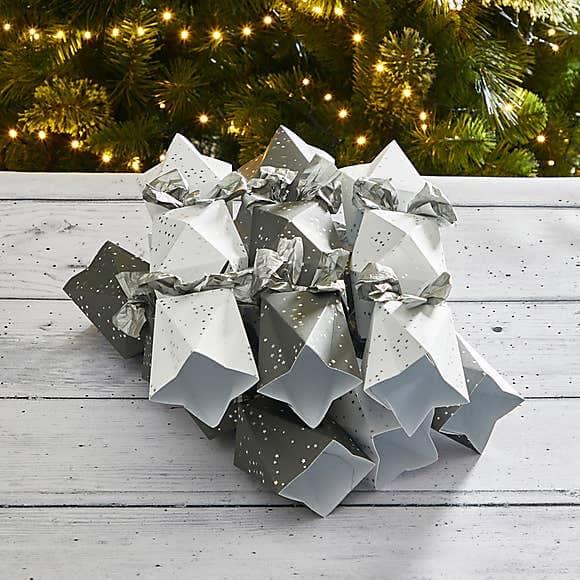Luxury Recyclable Geometric Crackers - Dunelm