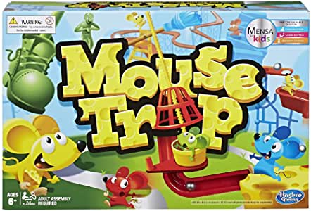 Hasbro Mouse Trap Game.