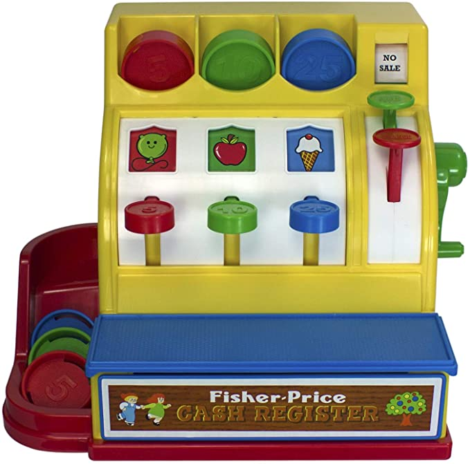 Fisher Price Classics Cash Register Toy.
