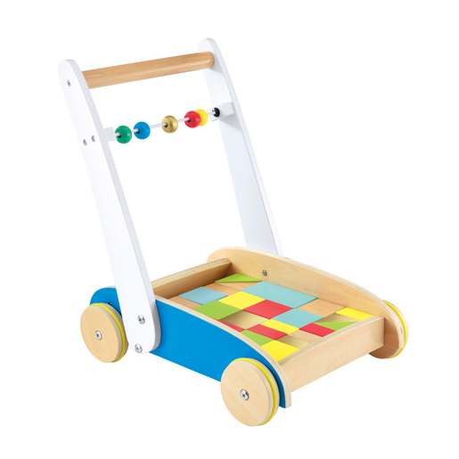 Early Learning Centre Wooden Toddle Truck.