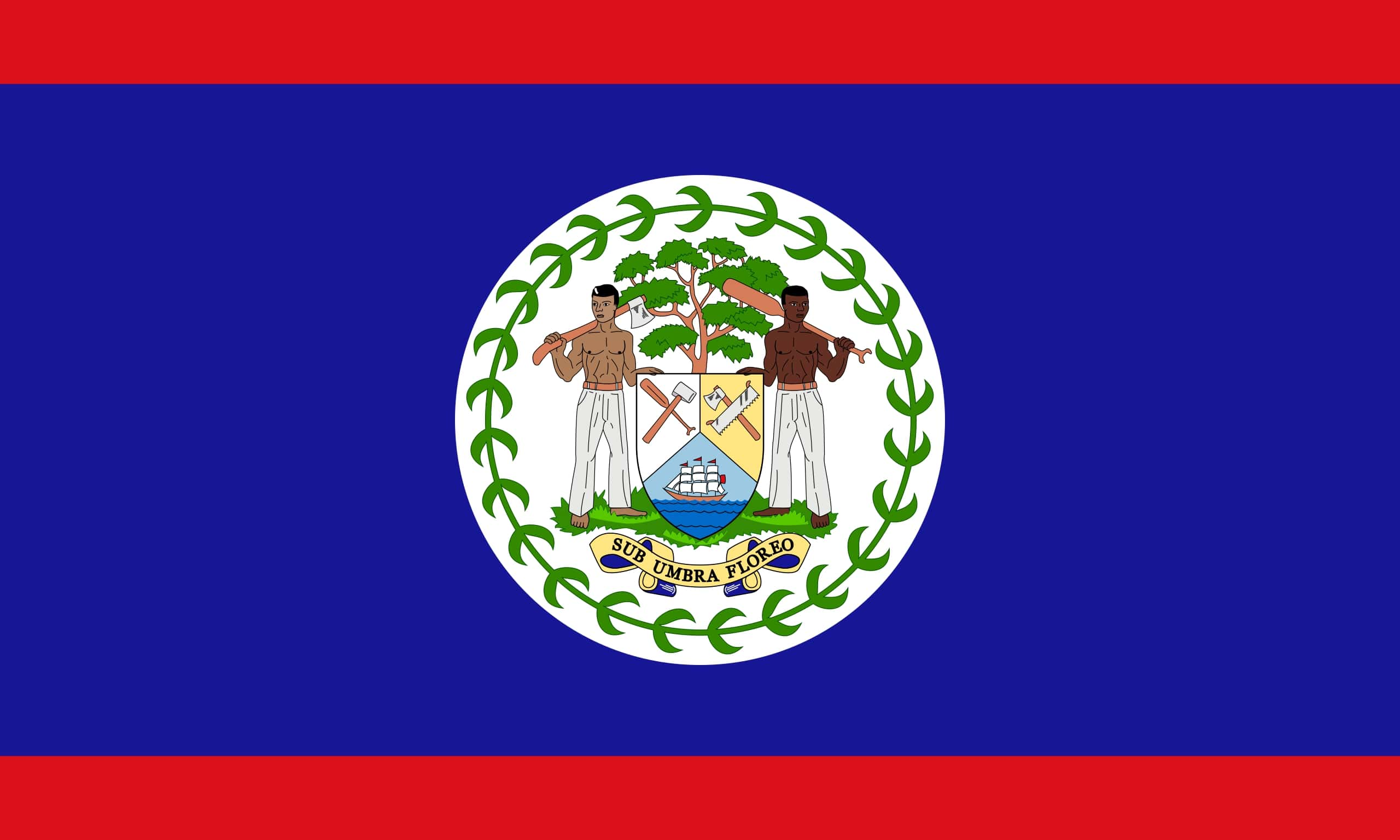 The flag of Belize holds a record - but for what?