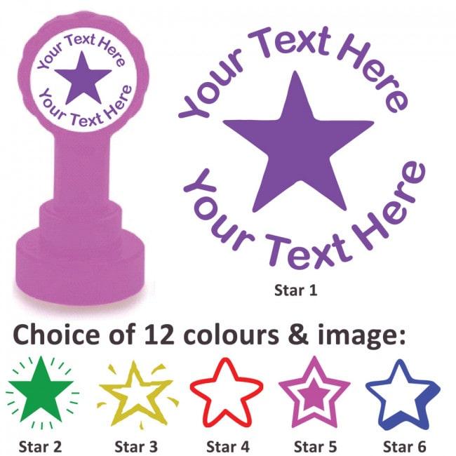 Personalised Teacher Stamp - Athena